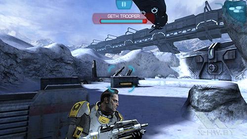 Игра Mass Effect: Infiltrator на Lenovo P780