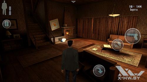 Игра Max Payne на Lenovo P780