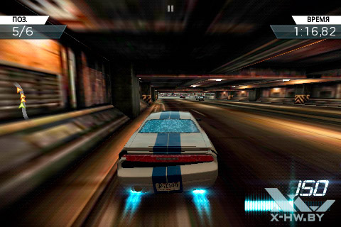 Игра Need For Speed: Most Wanted на Haier W701