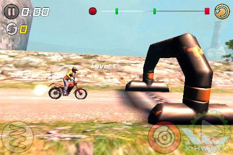 Игра Trial Xtreme 3 на Haier W701