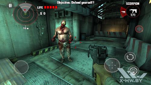 Dead Trigger на Highscreen Zera S