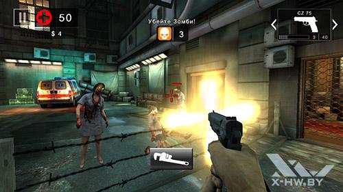 Dead Trigger 2 на Highscreen Zera S