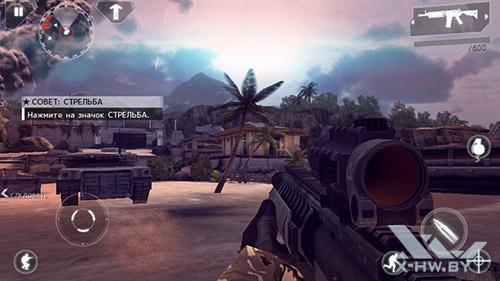 Modern Combat 4 на Highscreen Zera S