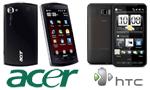 Acer F1 и HTC HD2 – мобильные «Windows-Феррари»