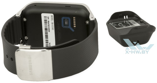 Разъем USB на зарядке Samsung Gear 2