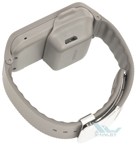 Разъем microUSB на зарядке Samsung Gear 2 Neo