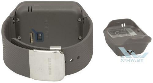 Разъем USB на зарядке Samsung Gear 2 Neo