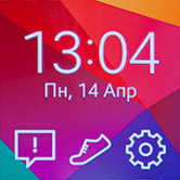 Главный экран Samsung Gear 2
