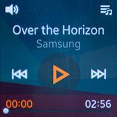 Управление воспроизведением на Samsung Gear 2