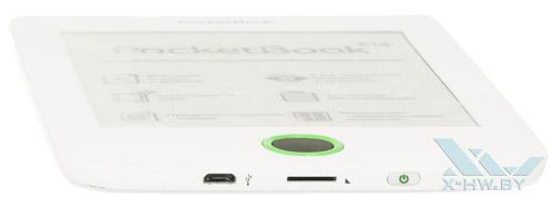 Нижний торец PocketBook 614