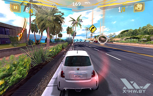 Игра Asphalt 7 на Samsung Galaxy Tab S 10.5