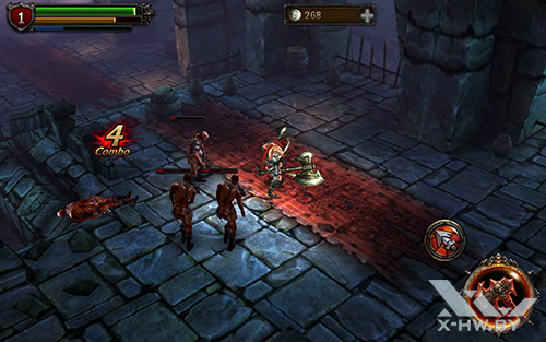 Игра Eternity Warriors 2 на Samsung Galaxy Tab S 10.5