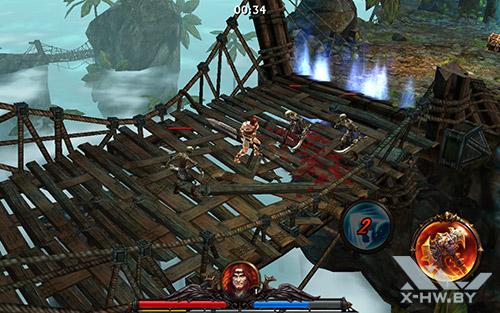 Игра Eternity Warriors 3 на Samsung Galaxy Tab S 10.5