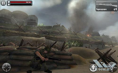Игра Frontline Commando: Normandy на Samsung Galaxy Tab S 10.5