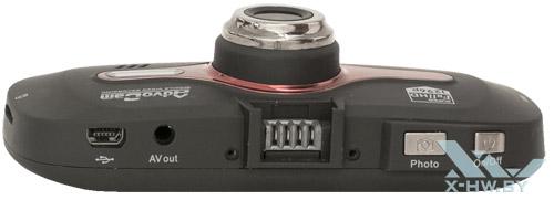 Верхний торец AdvoCam-FD8 Profi-GPS RED