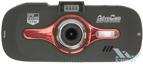 AdvoCam-FD8 Profi-GPS RED. Вид сверху