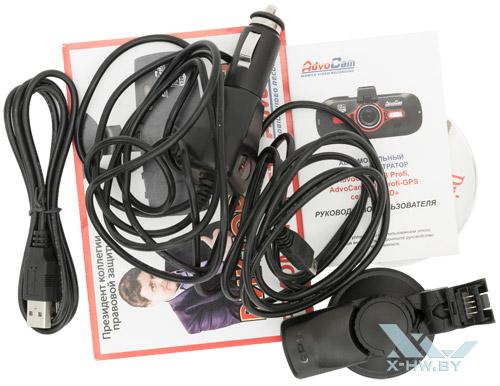 Комплект поставки AdvoCam-FD8 Profi-GPS RED