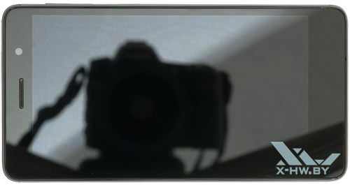 Lenovo S860. Вид сверху