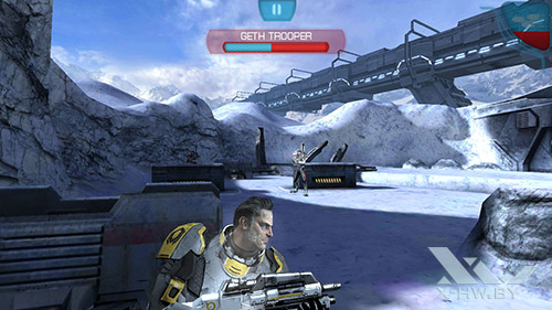 Игра Mass Effect: Infiltrator на Lenovo S860