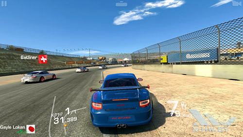 Игра Real Racing 3 на Lenovo S860