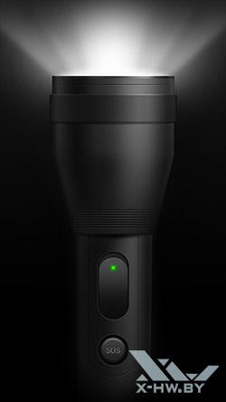 Фонарь на Lenovo S860