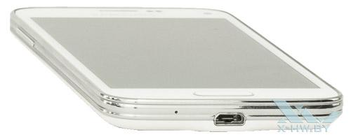 Нижний торец Samsung Galaxy S5 Mini