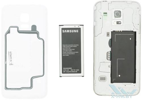 Разобранный Samsung Galaxy S5 Mini