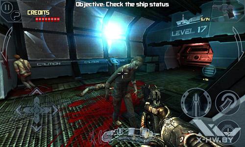 Игра Dead Effect на Senseit R390