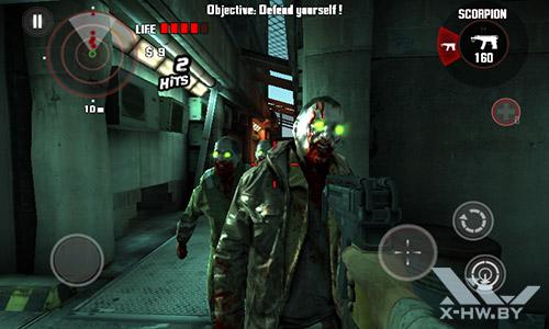 Игра Dead Trigger на Senseit R390