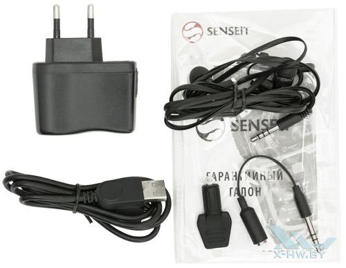Комплектация Senseit R390