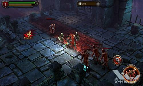 Игра Eternity Warriors 2 на Senseit R390