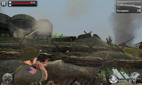 Игра Frontline Commando: Normandy на Senseit R390