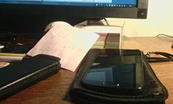 Пример съемки тыльной камерой Senseit R390. Рис. 14