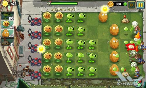 Игра Plants vs Zombies 2 на Senseit R390