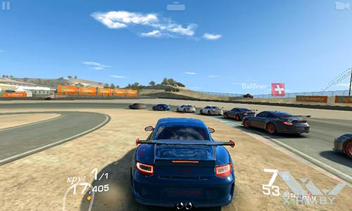 Игра Real Racing 3 на Senseit R390