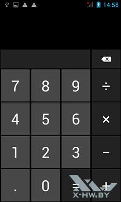 Калькулятор на Senseit R390