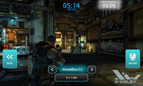 Игра Shadowgun: Dead Zone на Senseit R390