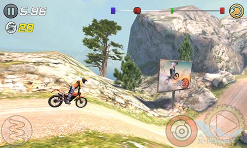 Игра Trial Xtreme 3 на Senseit R390