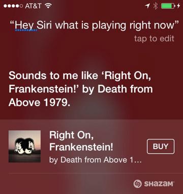 Как использовать Shazam в Siri в iOS 8