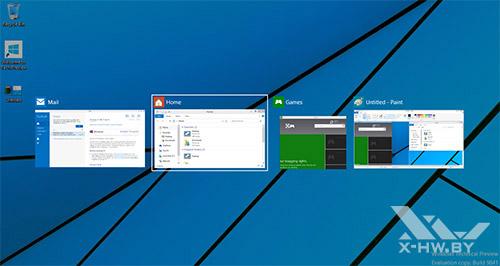 Переключение приложений в Windows 10