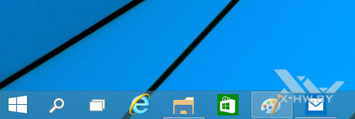 Приложения, открытые на других рабочих столах в Windows 10