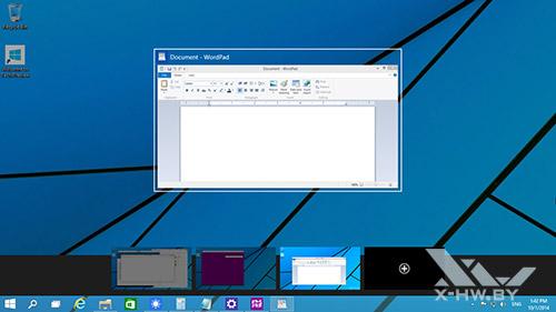 Виртуальные рабочие столы в Windows 10