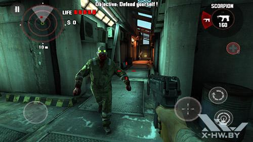 Игра Dead Trigger на ASUS Zenfone 5