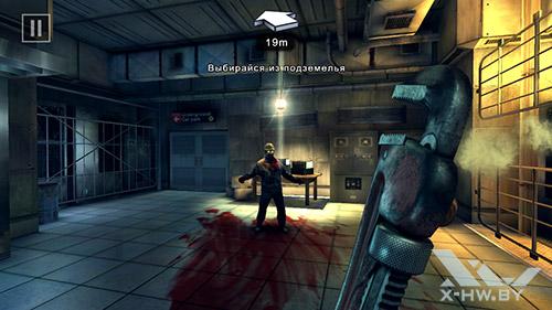 Игра Dead Trigger 2 на ASUS Zenfone 5
