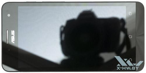 ASUS Zenfone 5. Вид сверху