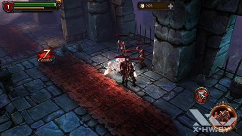 Игра Eternity Warriors 2 на ASUS Zenfone 5