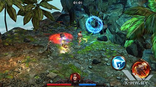 Игра Eternity Warriors 3 на ASUS Zenfone 5