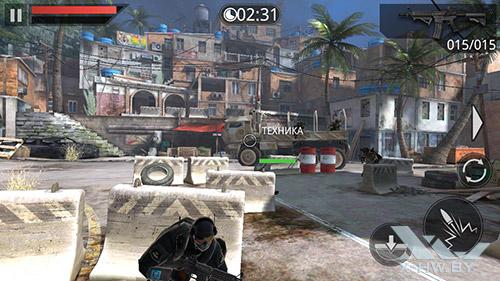 Игра Frontline Commando 2 на ASUS Zenfone 5