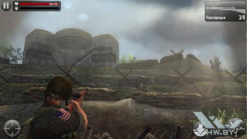 Игра Frontline Commando: Normandy на ASUS Zenfone 5