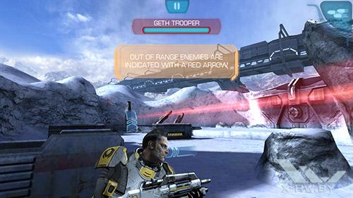 Игра Mass Effect: Infiltrator на ASUS Zenfone 5